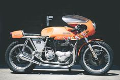 Norton Rickman Metisse Cafe Racer - Young Guns Speed Shop #motorcycles #caferacer #motos | caferacerpasion.com