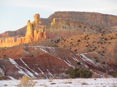Ghost Ranch, Abiqui, New Mexico. Photo by Paula Sanders.