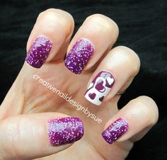 Creative Nail Design by Sue: Summer Fun Challenge-Summer Lovin'
