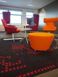 Seats 2 Meet Groningen, interior design by Studio Noord