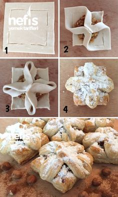 English Biscuits, Pan Relleno, Pastry Design, Bread Shaping, Greek Cooking, Bread And Pastries, Sweet Tarts, Arabic Food, Sweet Recipes
