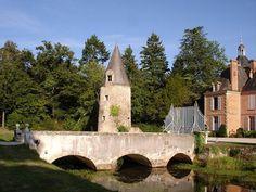 Chateau de la Rère à Theillay dans le Loir et Cher (41), à 55 km de Blois