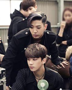 Yongguk and Youngjae