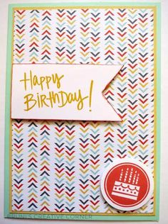 Birthday Card for men - Stampin' Up