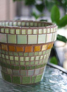 Gotta find some beautiful pots for next years herb garden.