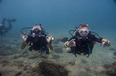 Duikopleiding in Tenerife, warm en helder water. Het hele jaar door duiken.