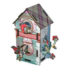 Deko-Vogelhaus Playmates, 29,90€, jetzt auf Fab.