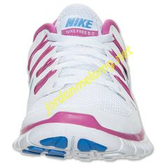 Nike Free 5.0 Womens Review Running Shoe White Club Pink 580591 145