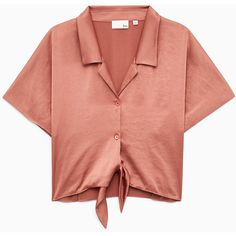 huang blouse Aritzia ($75) ❤ liked on Polyvore featuring tops, blouses, red blouse and red top