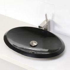 Found it at Wayfair - Incandescence Oval Vessel Bathroom Sink