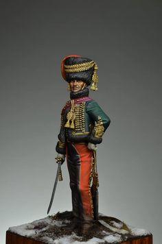 Ufficiale di un rgt. ussari francese
