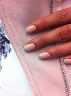 35 ideas nails french manicure colour toe 35 ideas nails french manicure colour toe SEE DETAILS Manicure Colors, Nail Manicure, Nail Colors, French Pedicure Colors, Two Color Nails, Colored French Nails, French Tip Nails, Colored Tip Nails, French Manicures