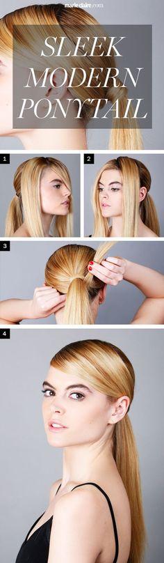 Hair How-To: Sleek Ponytail