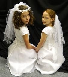 SHELLY SL8487 Sarah Louise White Beaded Communion Dress