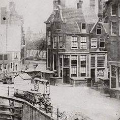 Uitzicht op Muntsluis. Rechts: ingang Reguliersbreestraat. Rechthebbende: Rijksmuseum Amsterdam