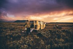 American Wild Panoramic Bikers Photographs – Fubiz Media