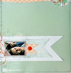 I {lowe} SCRAP :: 'I love pattern' & 'Mint' by Dora