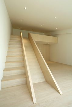 Fragments of architecture I'm such a kid, but I've always wanted a stair slide. Home Interior Design, Interior Architecture, Simple Interior, Stairs Architecture, Interior Doors, Contemporary Interior, Stair Slide, Stairs With Slide, Staircase Design