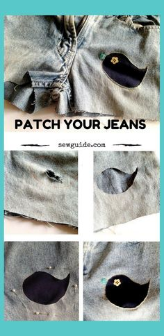 Learn How to repair clothes by sewing holes and mending them rightly Sewing Terms, Sewing Basics, Sewing Hacks, Sewing Tutorials, Sewing Projects, Sewing Crafts, Sewing Station, Clothing Hacks, Upcycled Clothing