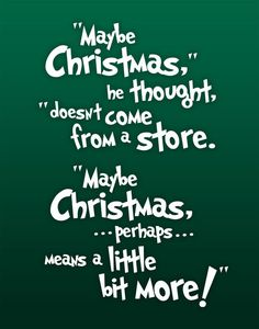 Christmas Subway Art  The Grinch Quote by betterlettersart on Etsy, $20.00