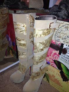 My boots I designed
