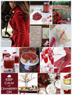 """20.  In honor of Eat a Cranberry Day (Nov 23rd) create a page that features anything """"cranberry"""". - 2 pts"""