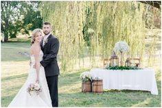 Country Chic Styled Wedding   Virginia Arboretum16