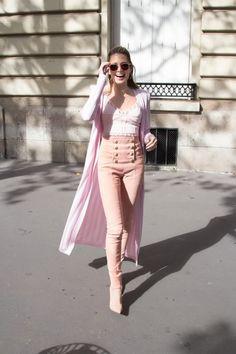 LOOK HELENA BORDON PARIS FASHION WEEK SS17 BALMAIN