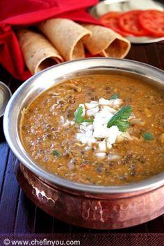 Dal Bukhara - vegetarian lentil stew
