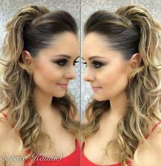 Mi Ponytail Hairstyles, Bride Hairstyles, Pretty Hairstyles, Long Hair Wedding Styles, Short Hair Styles, Bridesmade Hair, Hair Upstyles, Hair Growth Treatment, Queen Hair