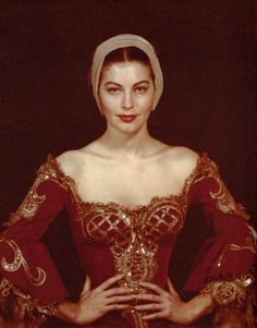 Ava Gardner - by Man Ray 1950.....Ava had a distinct look about her......