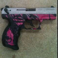 Pistol camo dipped in Muddy Girl.  www.facebook.com/liquiddimensions