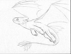 Nightfury Sketch