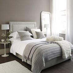 Cavendish Headboard - Beds | The White Company