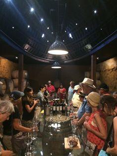 Tasting at Vena Cava - BTK on Tour in the Valle de Guadalupe