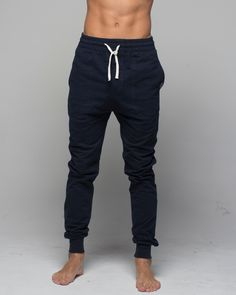 Mens Track Pant Navy available at www.monstasurf.com abs not included #fashion