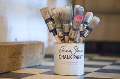 Chalk paint, decorative paint by Annie Sloan. At 'Bij Sigrid', Chalk Paint stockist in the Netherlands. #ChalkPaint #MoreThanPaint