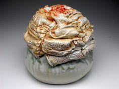 Bird's Nest series, reversible bowl, view 3. $750.00 Diy Workshop, Ceramic Artists, Art Pieces, Lion Sculpture, Ceramics, Nest, Crystals, Gallery, Earth