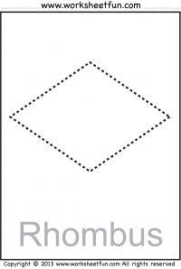 Grade 6 math worksheet - Geometry: classifying quadrilaterals   K5 ...