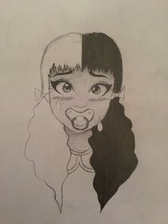 Melanie Martinez doodle by Brieannababe.deviantart.com on @DeviantArt