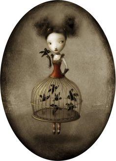 Las oníricas ilustraciones de Nicoletta Ceccoli