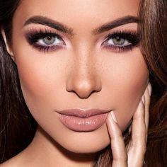 Cool Toned Eyeshadow Palette, Eyeshadow Tips, Makeup Palette, Eyeshadow Makeup, Mauve Makeup, Contour Makeup, Crazy Eyeshadow, Smokey Eyeshadow, Colorful Eyeshadow