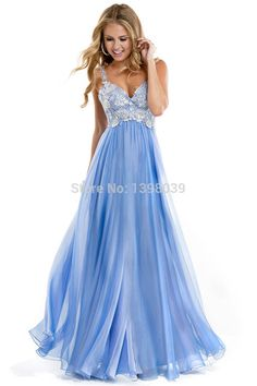 Prom Dresses 2014 Floor Length Party Dress Gowns for Teen