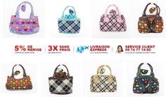 Pour rehausser votre look fashion et preppy, Ventegros.fr vous propose à un prix incroyable le lot de 12 pour ce joli petit sac à main imprimé coeurs multicolores et équipé d'un porte-monnaie assorti. Sac à main à craquer qui complétera joliment votre tenue. Le lot de 12 est vendu à seulement 25.92 € H.T soit 2.16 € / UNITÉ http://www.ventegros.fr/petit-sac-a-main-imprime-coeurs-multicolores-avec-porte-monnaie.htm