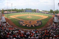 Davenport Stadium, home of the University of Virginia