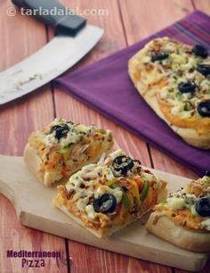 Mediterranean Pizza, Lebanese Pizza
