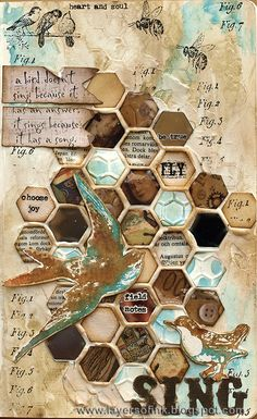 Layers of ink - Frameworks Mosaic Tutorial http://layersofink.blogspot.com/2014/03/frameworks-mosaic-tutorial.html