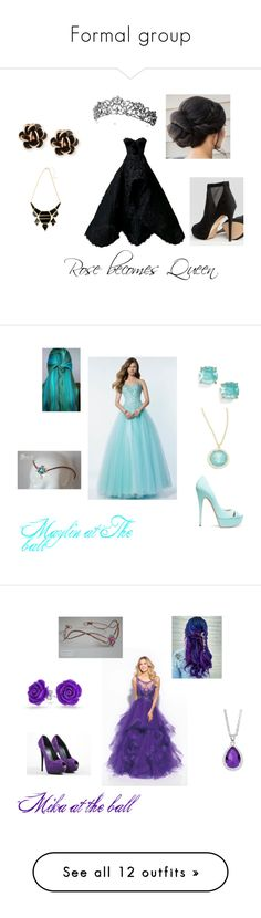 """""""Formal group"""" by niacokerbengochea on Polyvore featuring Nedret Taciroglu Couture, ALDO, Chantecler, Alyce Paris, Kate Spade, Casadei, Ippolita, Madison James, Giuseppe Zanotti and Bling Jewelry"""