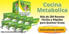 Cocina Metabolica: Un Plan de Recetas que no Falla - www.pragmart.es/... You Need to read this: www.pragmart.es