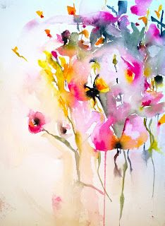 Karin Johannesson Contemporary Watercolour: Fresh Paint!